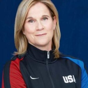 Jill Ellis In USA Track Jacket